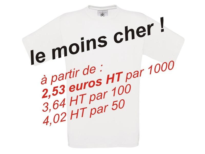 Tee shirt à personnaliser Pas Cher - Laser Images d9ea5b7b904