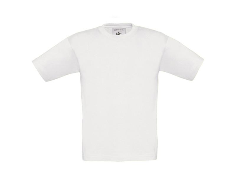 Tee-shirt ENFANT B&C 145 gr blanc